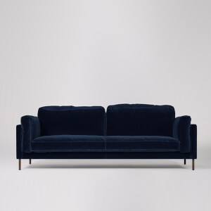 Swoon Munich Velvet 3 Seater Sofa