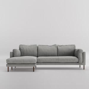 Swoon Munich House Weave Corner Sofa - Left Hand Side