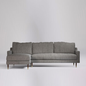 Swoon Reiti House Weave Corner Sofa - Left Hand Side