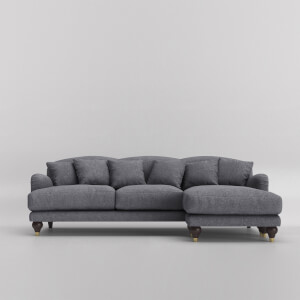 Swoon Holton Smart Wool Corner Sofa - Right Hand Side