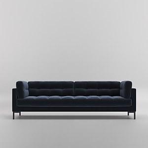 Swoon Landau Velvet 3 Seater Sofa