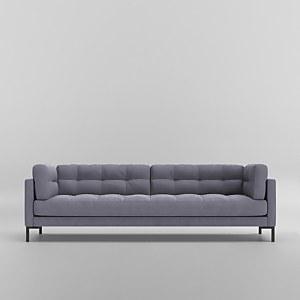 Swoon Landau Smart Wool 3 Seater Sofa