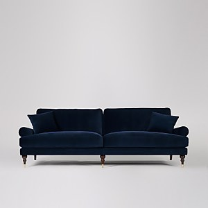 Swoon Sutton Velvet 3 Seater Sofa