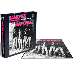 Ramones Rocket to Russia (500 Piece Jigsaw Puzzle)