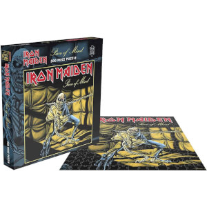 Iron Maiden Piece of Mind (500 Piece Jigsaw Puzzle)