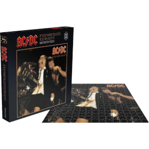 AC/DC If You Want Blood (500 Piece Jigsaw Puzzle)