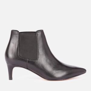 Clarks Women's Laina55 Leather Shoe Boots - Black