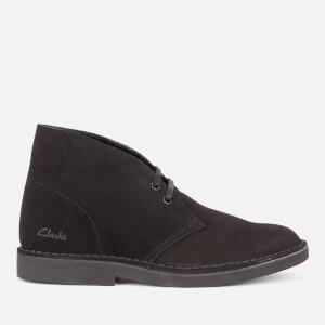 Clarks Women's Suede 2 Desert Boots - Black