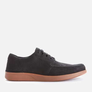Clarks Men's Oakland Walk Nubuck Shoes - Black Combi