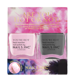 nail inc. Are You Hot or Not? Duo Nail Polish