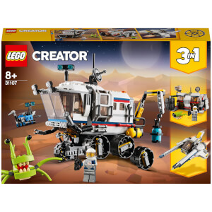 LEGO Creator: 3in1 Space Rover Explorer Building Set (31107)