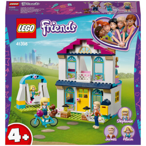 LEGO Friends: 4+ Stephanie's House (41398)