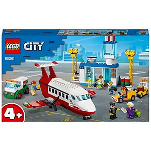 LEGO City: 4+ Central Airport Charter Plane Toy (60261)
