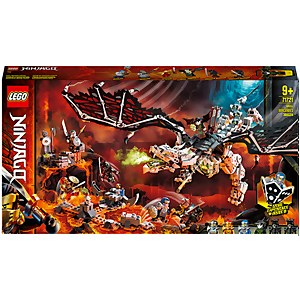 LEGO NINJAGO: Skull Sorcerer's Dragon Board Game Set (71721)