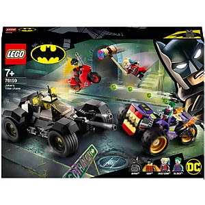 LEGO DC Batman Joker's Trike Chase Batmobile Toy (76159)