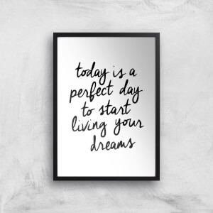 The Motivated Type Today Is A Perfect Day Giclee Art Print