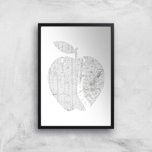 The Motivated Type New York Big Apple Giclee Art Print