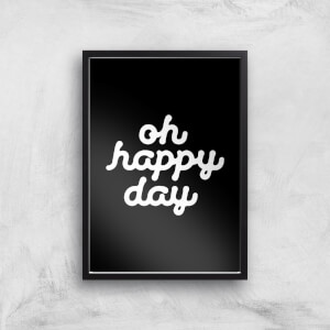The Motivated Type Oh Happy Day Giclee Art Print