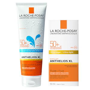 La Roche-Posay Face and Body Sunscreen Set for Oily and Acne-Prone Skin
