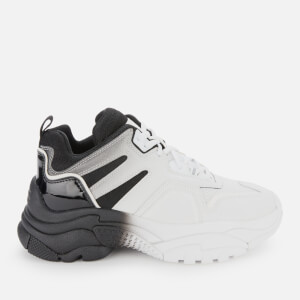 Ash Women's Active Chunky Trainers - White/Black