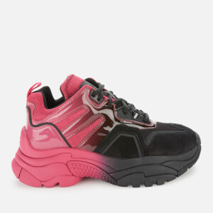 Ash Women's Active Chunky Trainers - Pink/Black