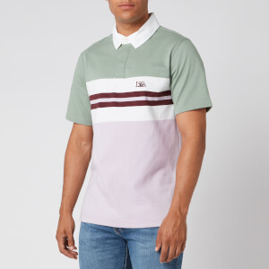 Levi's Men's Authentic Logo Rugby Polo Shirt - Lavender Frost