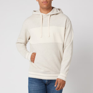 Levi's Men's Relaxed Fit Garment Dye Novelty Hoodie - Tofu