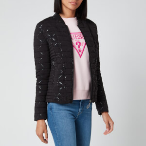 Guess Women's Vera Jacket - Jet Black