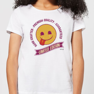 Emoji Limited Edition Women's T-Shirt - White