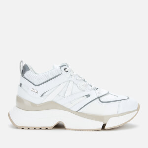 Karl Lagerfeld Women's Adventure Delta Running Style Trainers - White