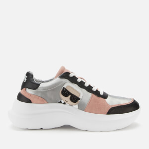Karl Lagerfeld Women's Skyline Running Style Trainers - Black Multi