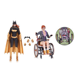 DC Collectibles DC Comics Batman Arkham Knight Batgirl Oracle Action Figure (Pack of 2)