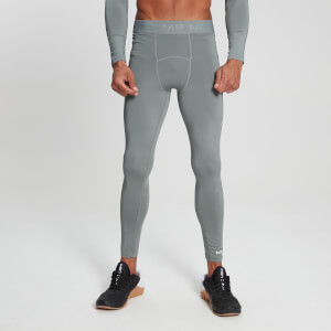 MP Men's Essentials Training Baselayer Leggings - Storm