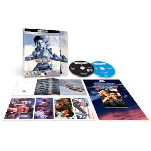 Top Gun 4K + Blu-ray 2D - Steelbook Deluxe Exclusivo Zavvi