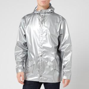 RAINS Jacket - Silver