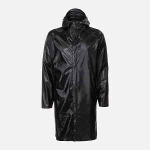 RAINS Coat - Shiny Black