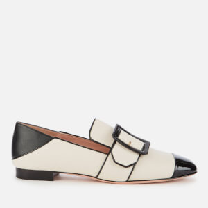 Bally Women's Janelle Toeca Leather Loafers - Bone