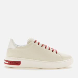 Bally Men's Marvyn Leather Trainers - White