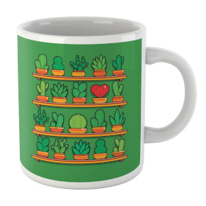 Love Yourself Cactus Heart Mug