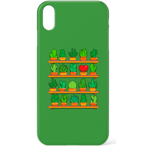 Love Yourself Cactus Heart Phone Case for iPhone and Android