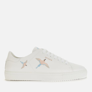 Axel Arigato Women's Clean 90 Bird Leather Cupsole Trainers - White/Blue/Pink