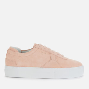 Axel Arigato Women's Platform Suede Trainers - Pale Pink