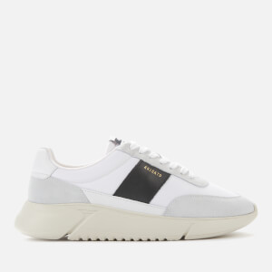 Axel Arigato Men's Geneses Running Style Trainers - White/Black