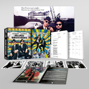 Exclusivité Zavvi : Steelbook Deluxe The Blues Brothers 4K Ultra HD (Blu-ray 2D Inclus)