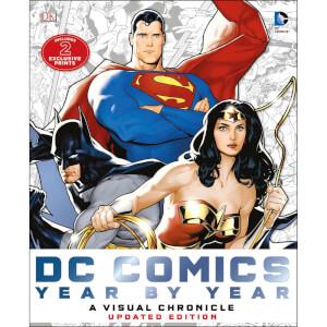 DK Books DC Comics Year by Year A Visual Chronicle Hardback