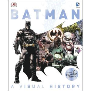DK Books Batman A Visual History Hardback