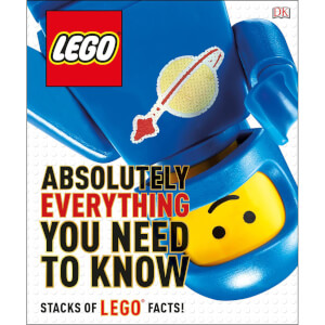DK Books LEGO Absolutely Everything You Need to Know Hardback