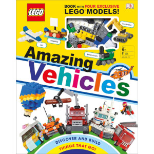 DK Books LEGO Amazing Vehicles Hardback