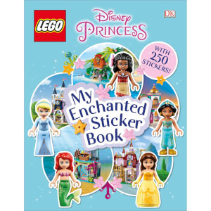 DK Books LEGO Disney Princess My Enchanted Sticker Book Paperback