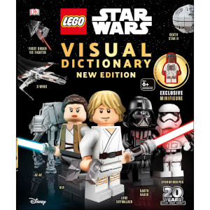 DK Books LEGO Star Wars Visual Dictionary New Edition Hardback